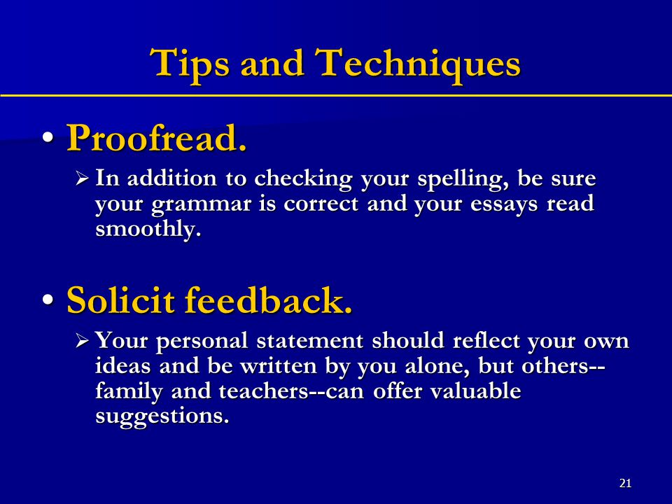 21 Tips and Techniques Proofread.Proofread.