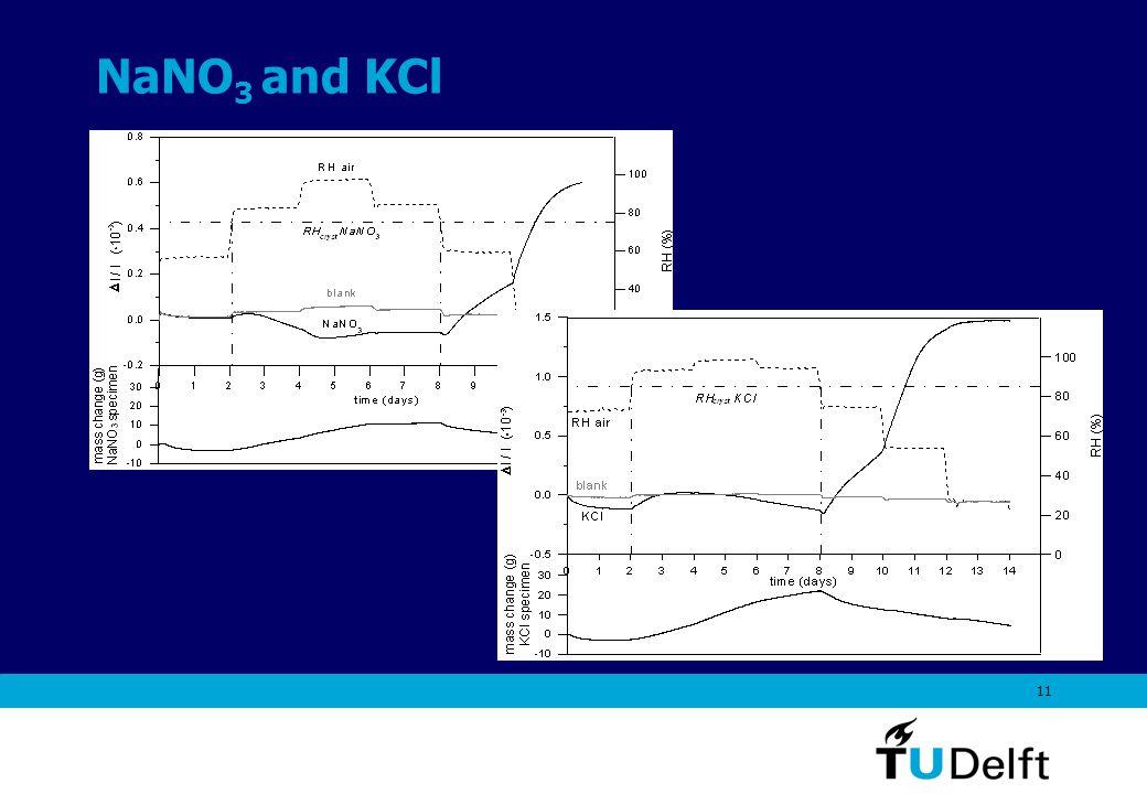 11 NaNO 3 and KCl