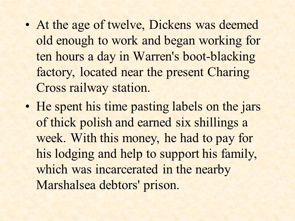 Dickens began work as a law clerk, a junior office position with potential to become a lawyer.