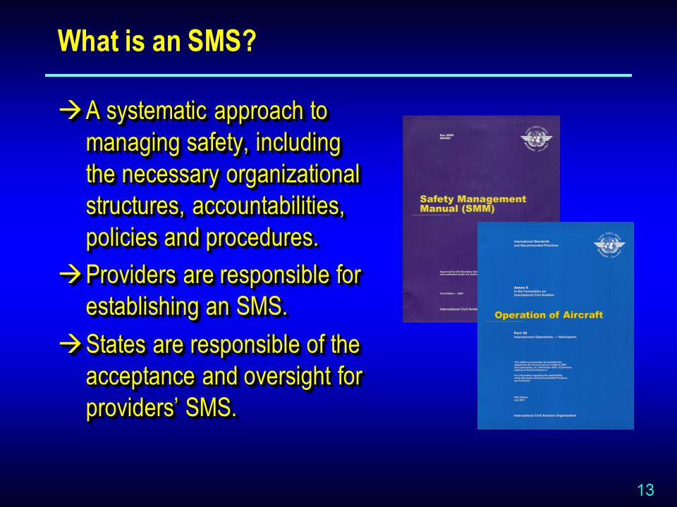 13 What is an SMS.