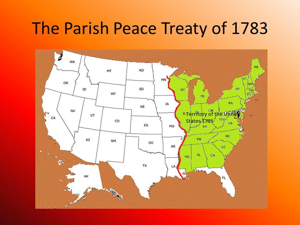 The Parish Peace Treaty of 1783
