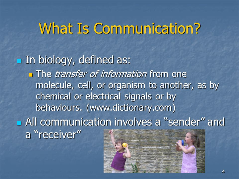 4 What Is Communication.