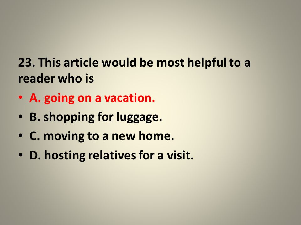 24.In the subheading The Clothing Dilemma, the word dilemma means A.