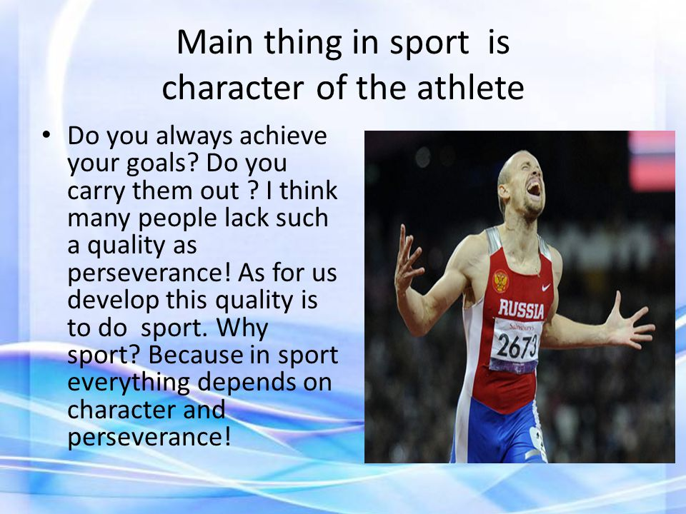 I think that a dream of a professional sportsman is a gold Olympic medal !