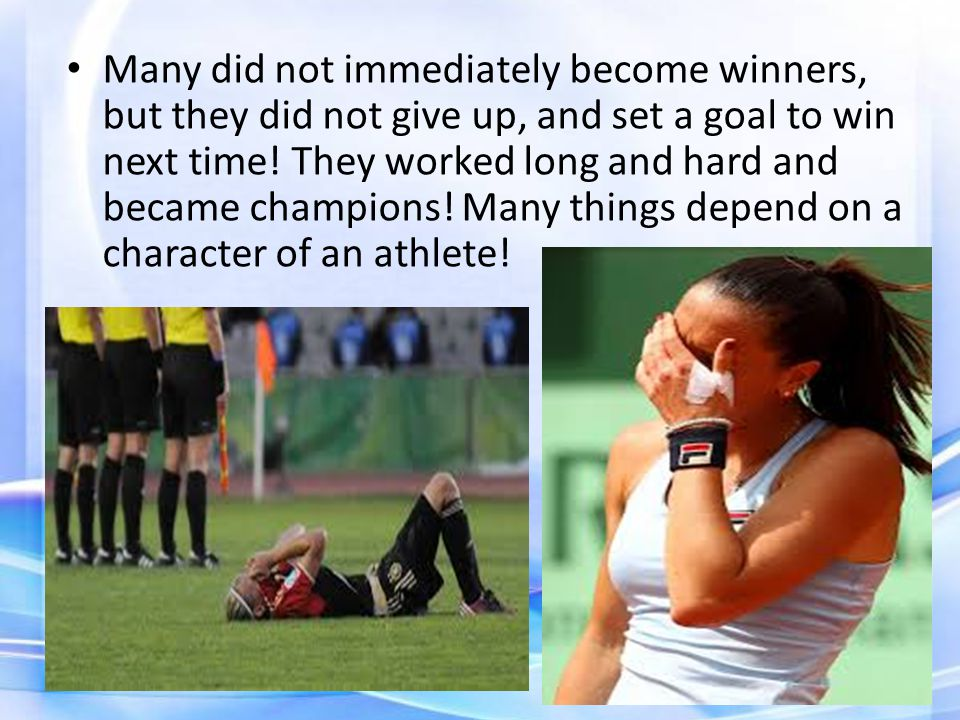 For example, the fate of each Paralympics is a unique store of overcoming, history of pain and victories, the price of which most people have very little idea.