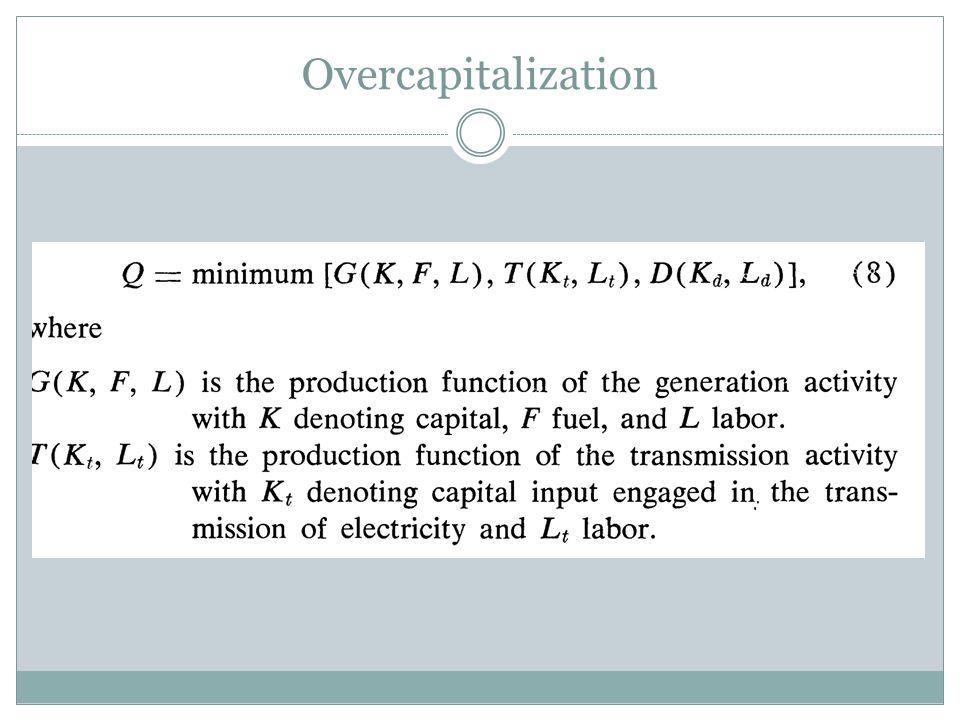 Overcapitalization