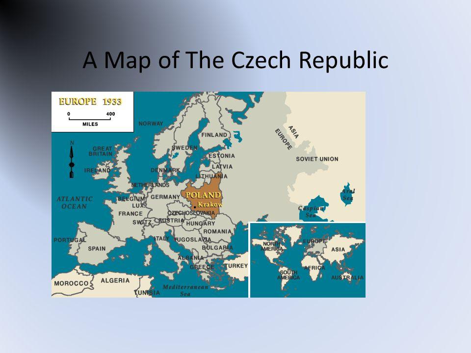 A Map of The Czech Republic