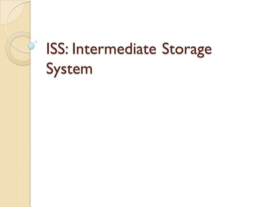 ISS: Intermediate Storage System