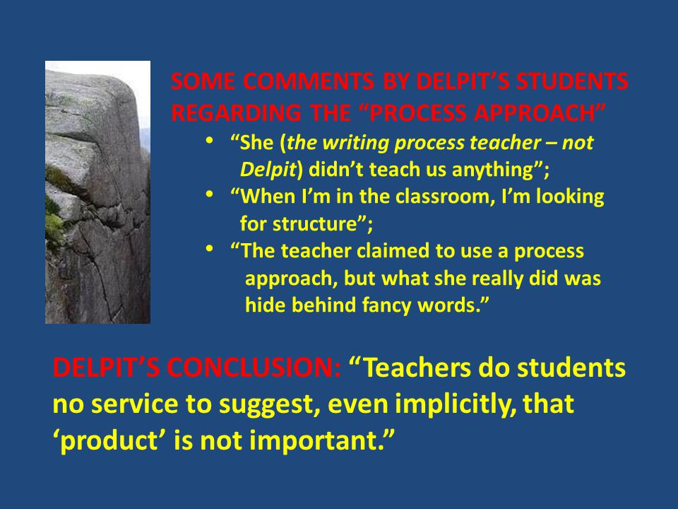 The Braddock Report ...the teaching of formal grammar has a negligible or...