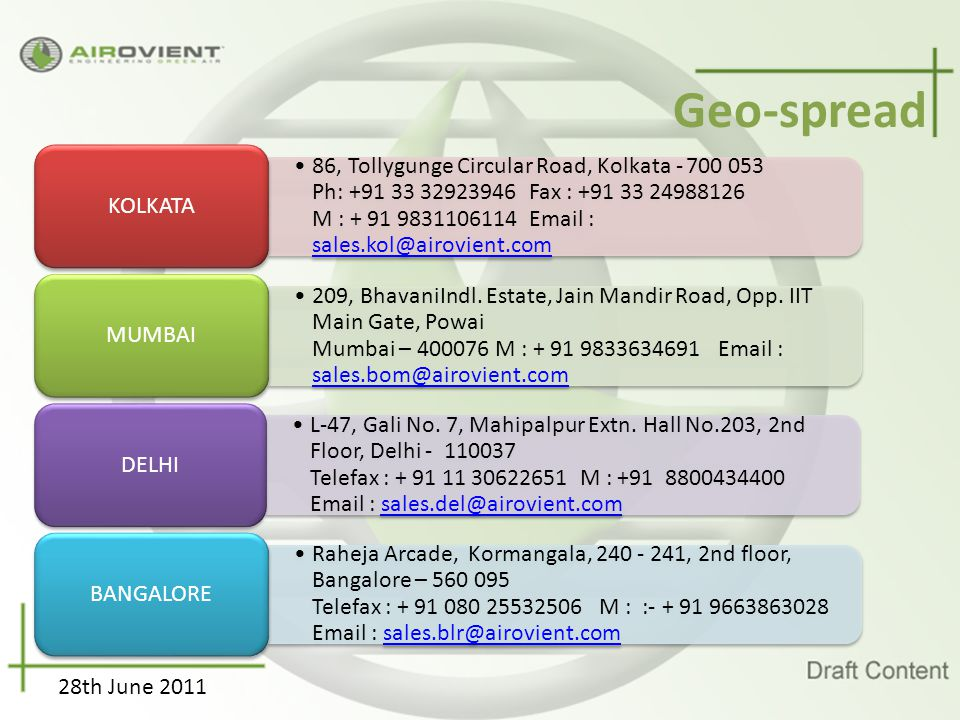 Geo-spread