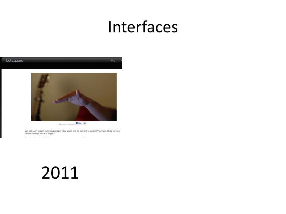2011 Interfaces