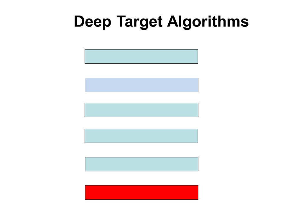 Deep Target Algorithms