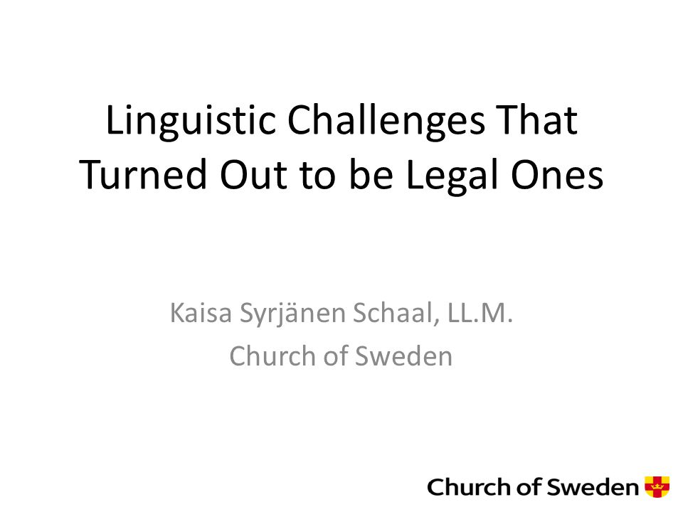 Why is the Church of Sweden involved in minority and indigenous issues.