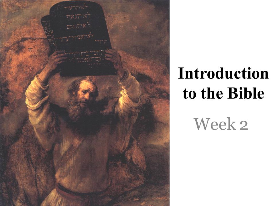 Initial Matters What the Bible is not- disconnected fables moral tales myths designed to explain human experience What the Bible is- The Living God's unified verbal self-disclosure that culminates in his direct self-disclosure, Jesus Christ.