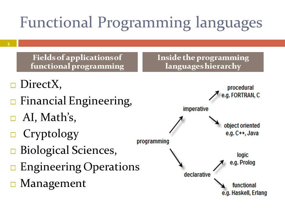 There's a language for every task 4  It s possible to program in an object-oriented style in C, or a functional style in a scripting language.