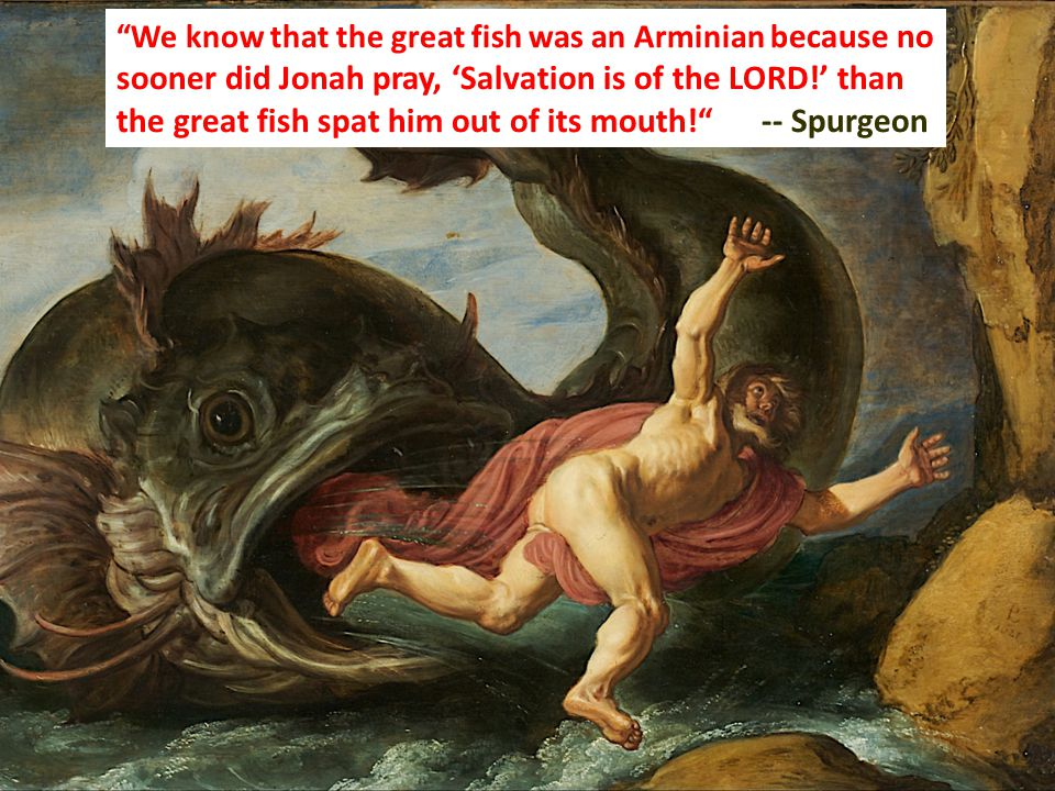 Jonah 2:10 And the LORD spoke to the fish, and it vomited Jonah out upon the dry land.