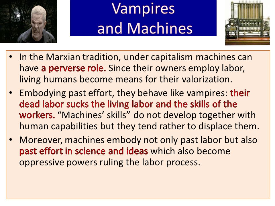 Science and Labor It is a result of the division of labor in manufactures, that the laborer is brought face to face with the intellectual potencies of the material process of production, as the property of another, and as a ruling power.