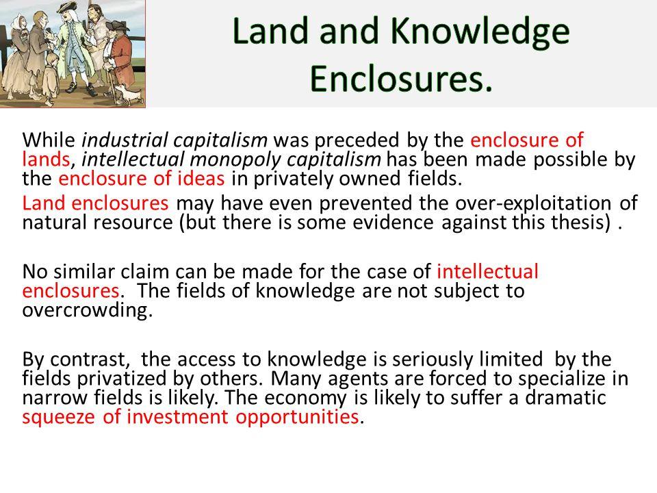 Intellectual Monopoly