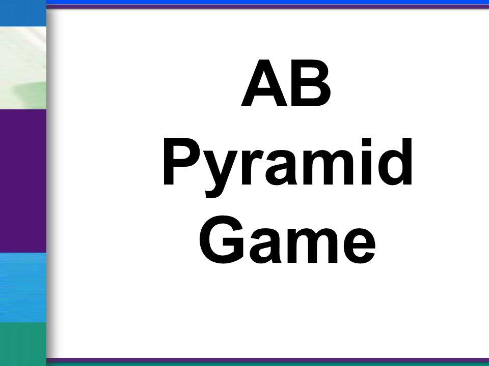 AB Pyramid Game