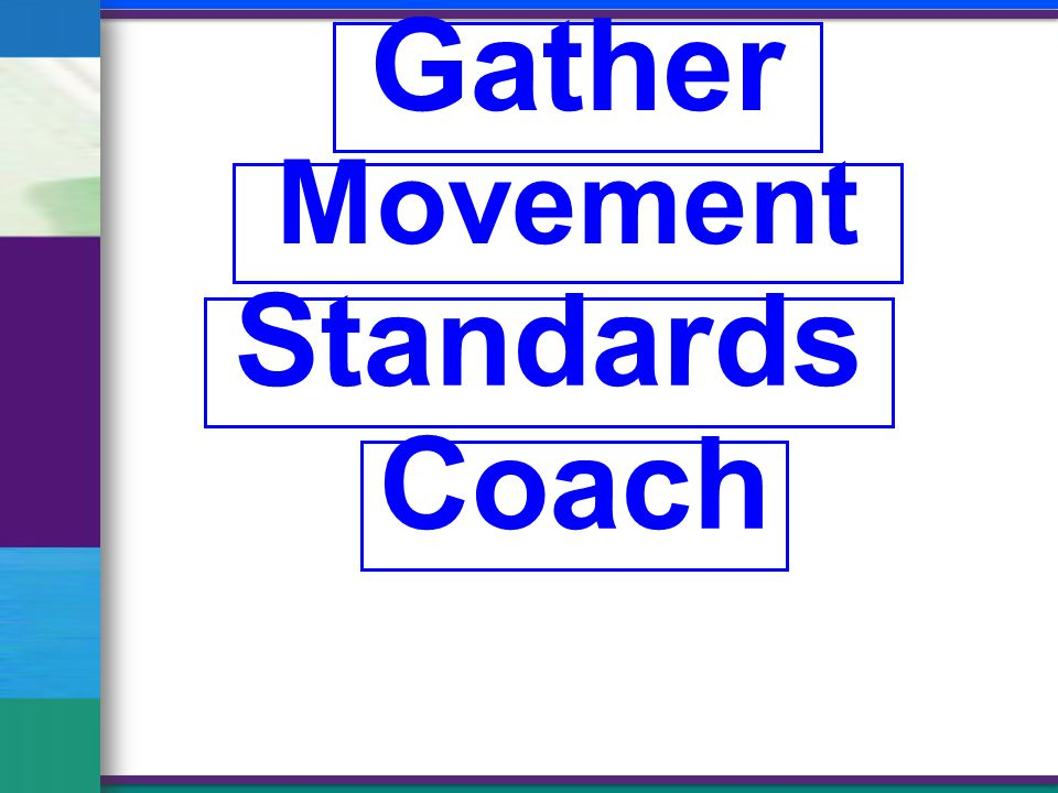 Gather Movement Standards Coach