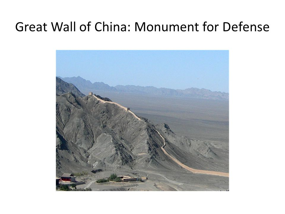 Great Wall of China: Monument for Defense