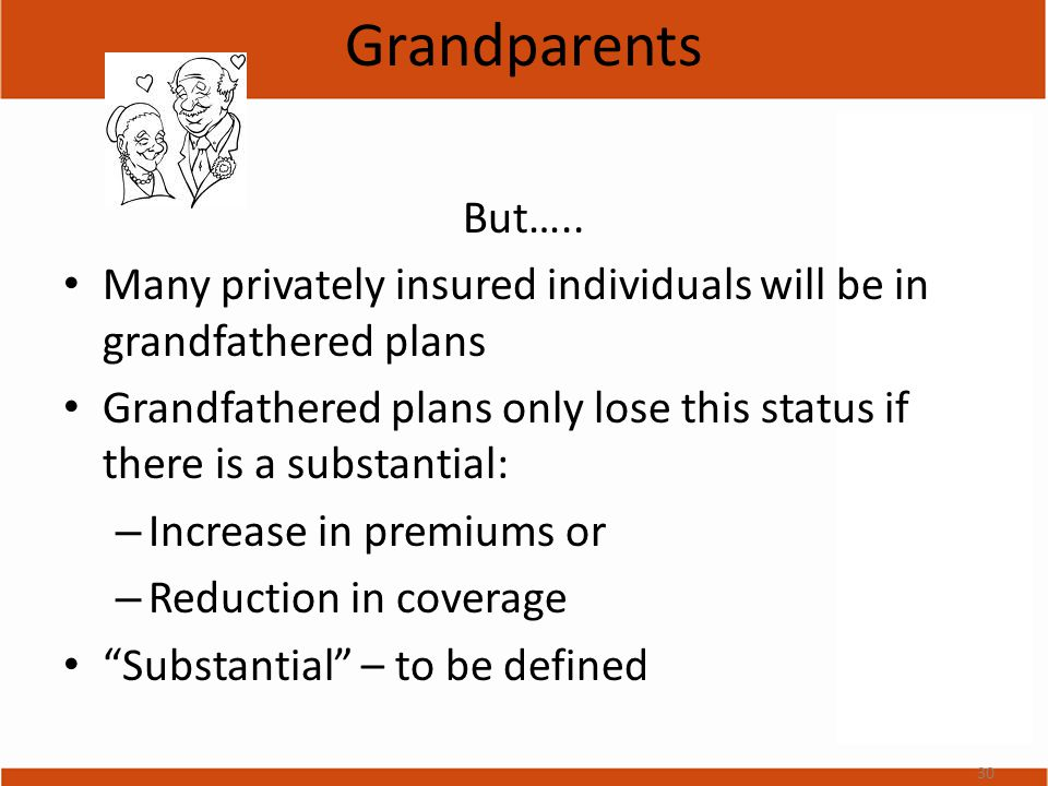 Grandparents But…..