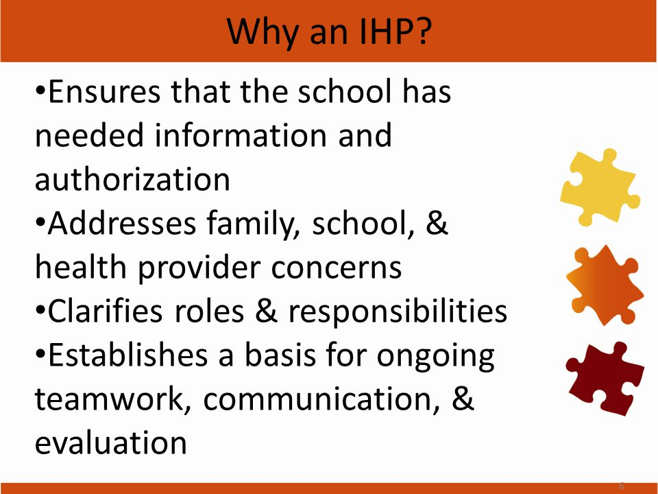 Why an IHP.
