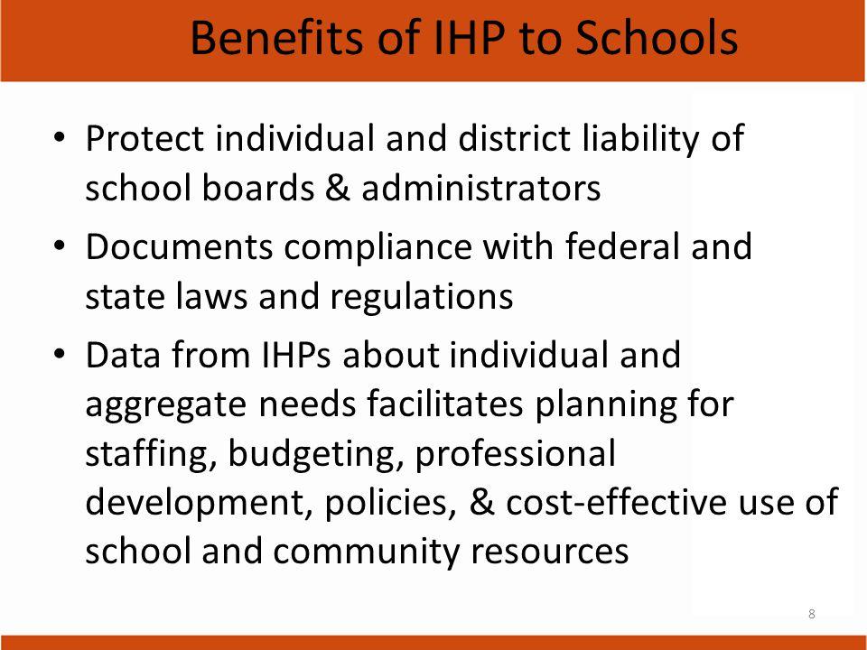 9 IHP needs to address: Collaboration!.