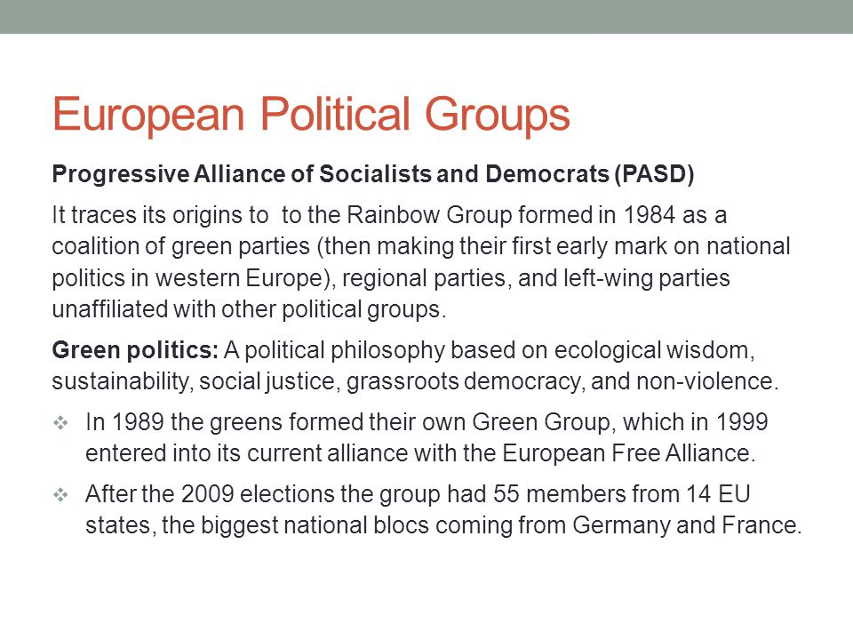 Interest Groups Business and labour groups have long been the most active at the EU level, but the number of special interest groups and Brussels-based think tanks has grown.