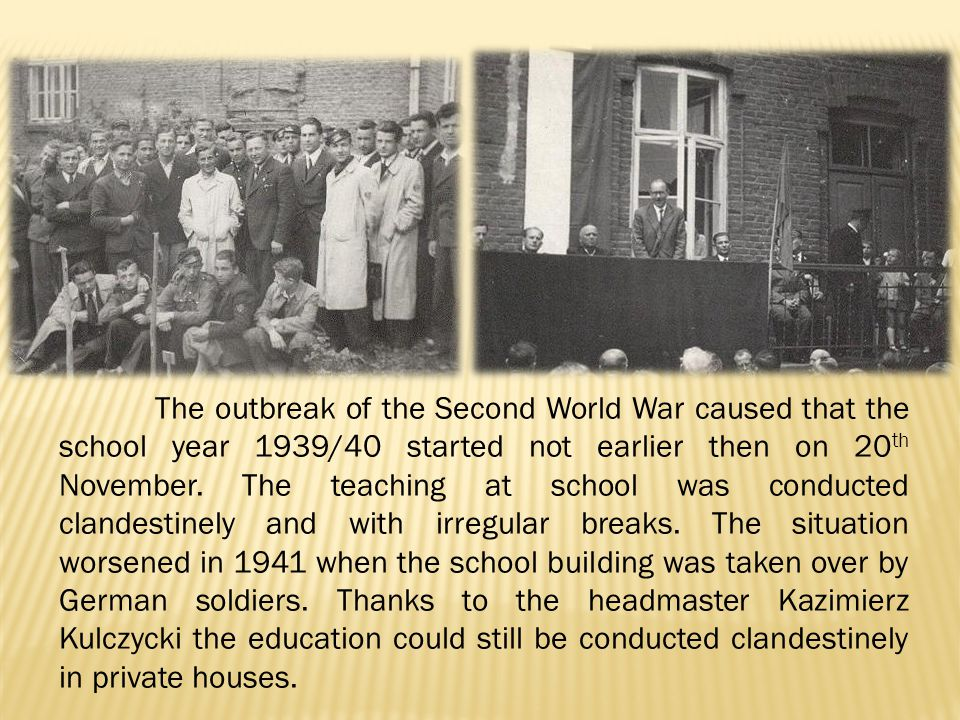 Then the further efforts were made to approve Aleksander Fredro as the patron of the school.