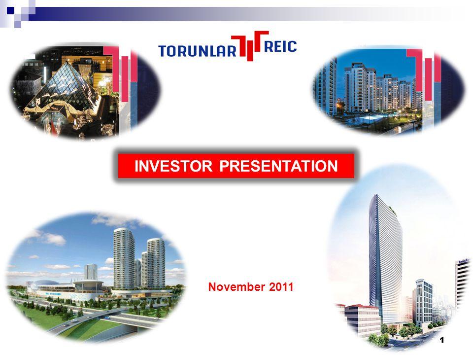111 INVESTOR PRESENTATION November 2011