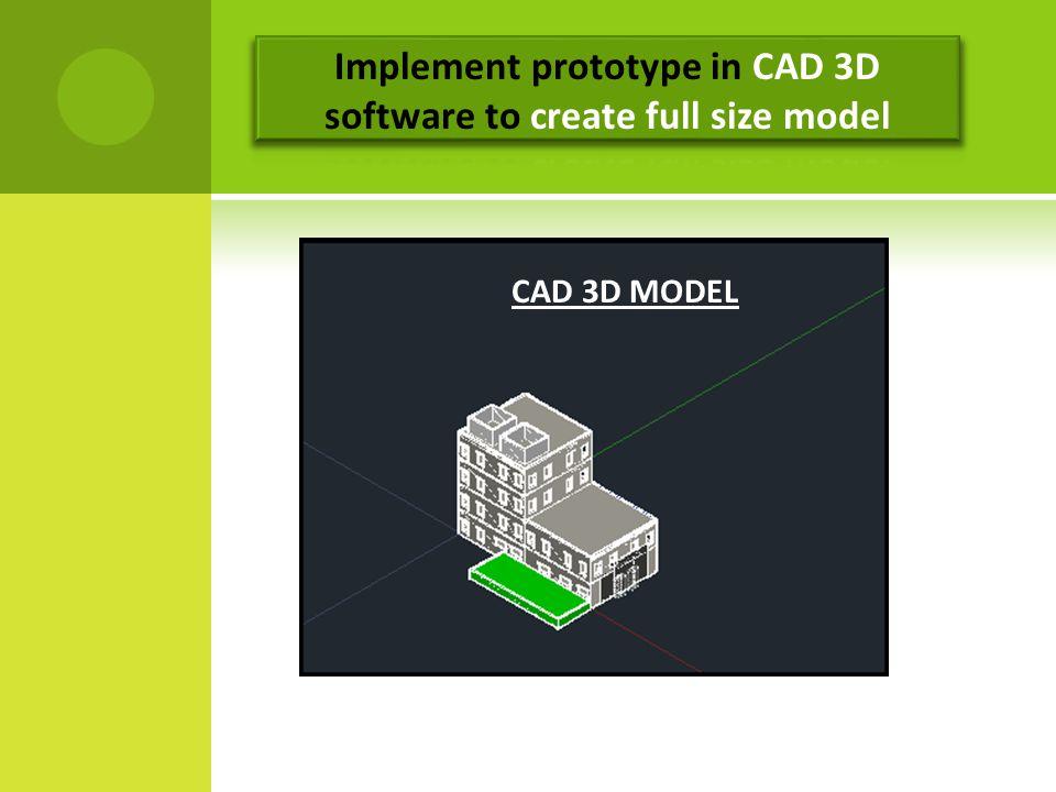 CAD 3D MODEL