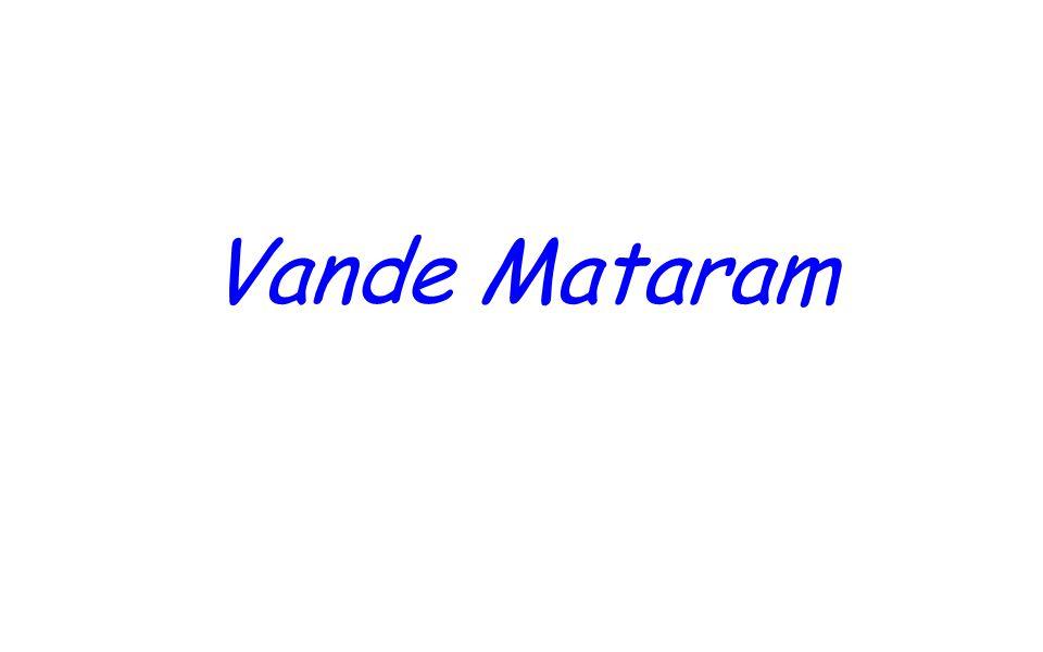 Vande Mataram