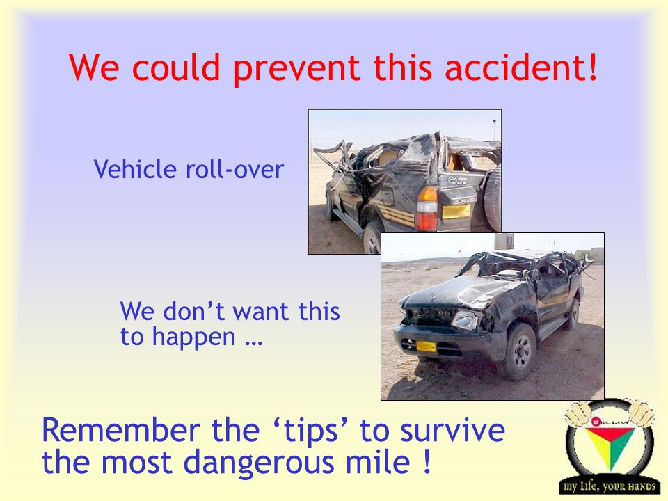 Transportation Tuesday We could prevent this accident.