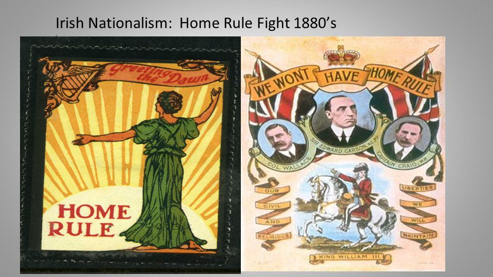 Irish Nationalism: Home Rule Fight 1880's '