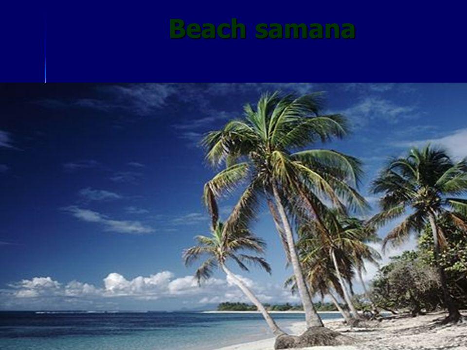 Beach samana