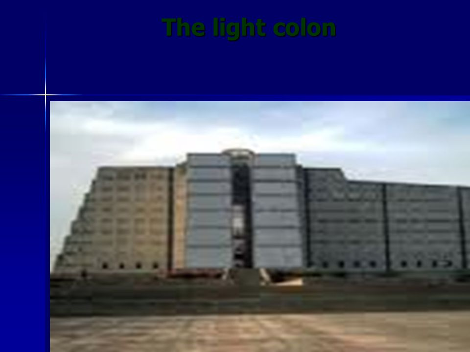 The light colon The light colon