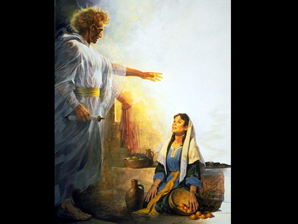 路加福音 1:38 ( 聖經新譯本 ) 馬利亞說:「我是主的婢女,願照你 的話成就在我身上!」天使就離開 她去了。