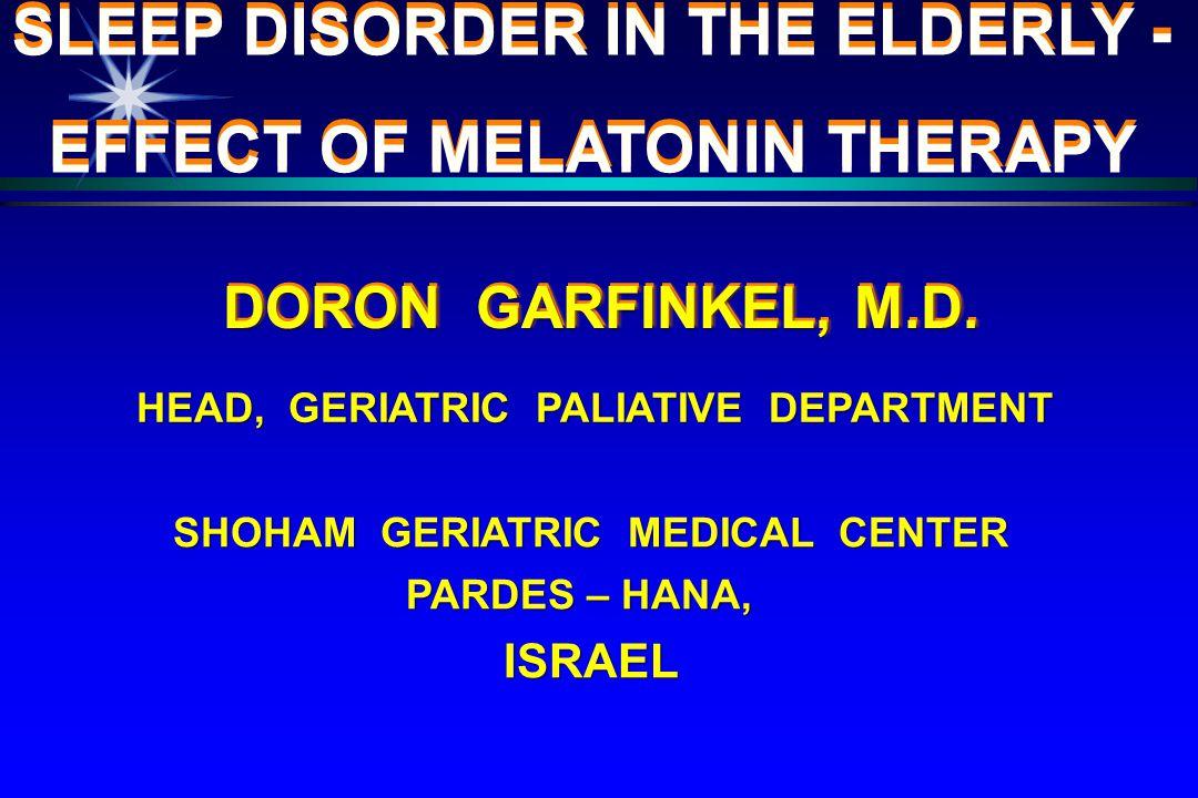 DORON GARFINKEL, M.D.