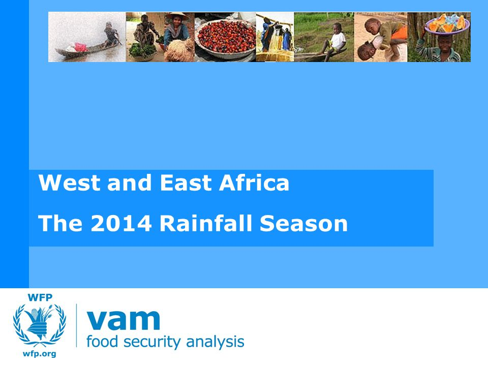 WEST AFRICA SEASONAL ANALYSIS - 2014 Total May 2014 rainfall as a percentage of the 20 year average.