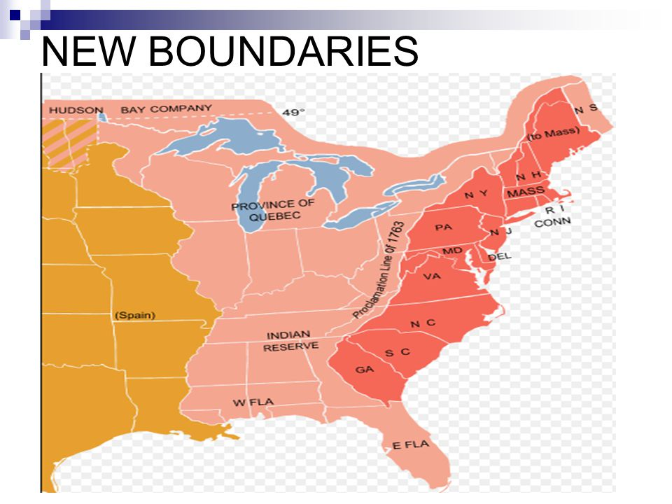 NEW BOUNDARIES
