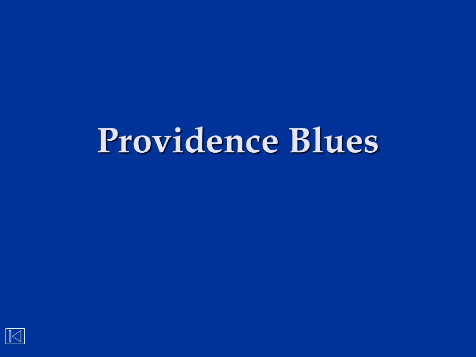 Providence Blues