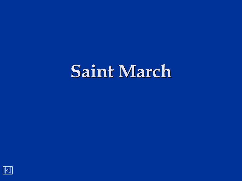 Saint March