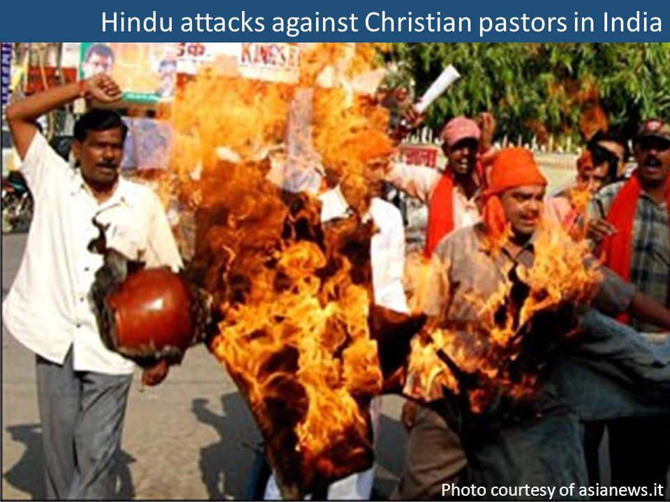 Hindu attacks against Christian pastors in India Photo courtesy of asianews.it