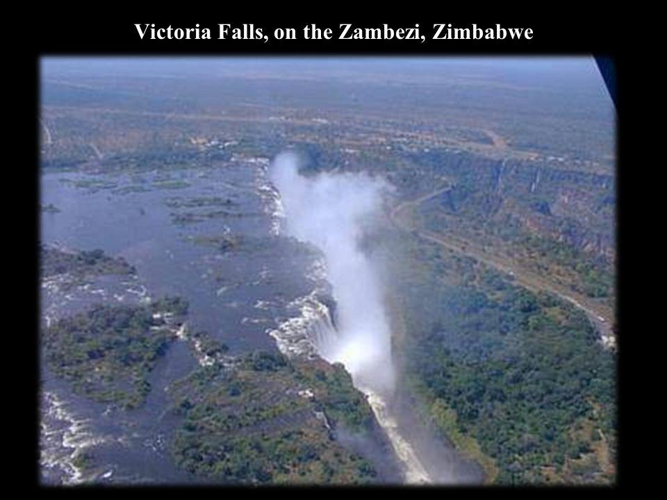Victoria Falls, on the Zambezi, Zimbabwe