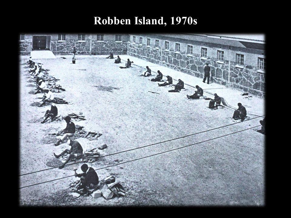 Robben Island, 1970s