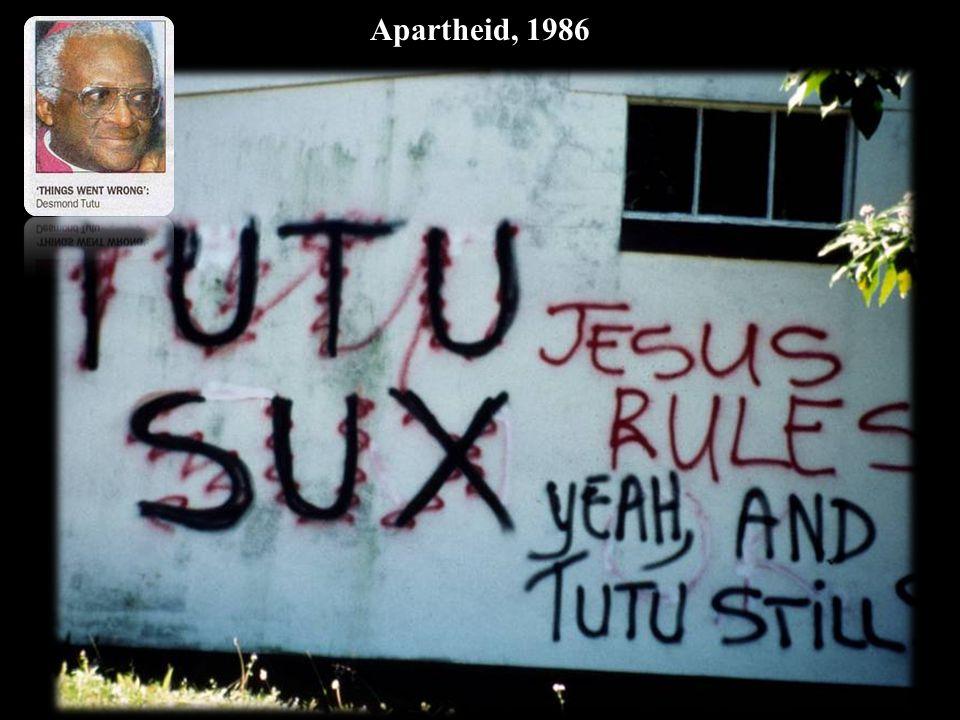 Apartheid, 1986