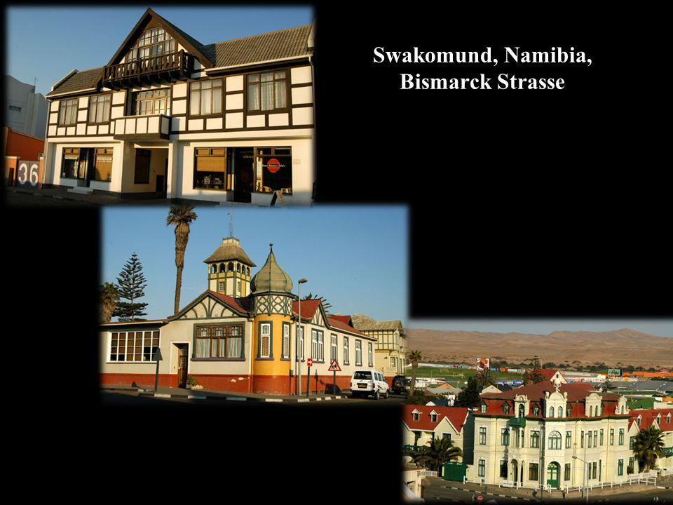 Swakomund, Namibia, Bismarck Strasse