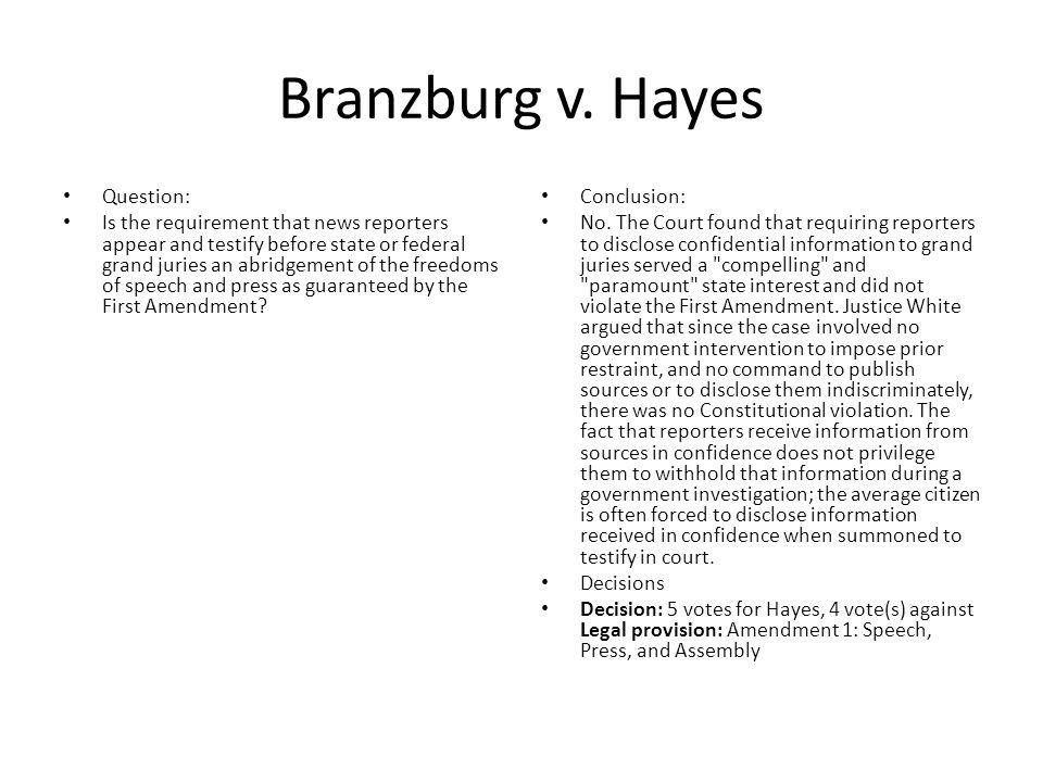 Branzburg v.