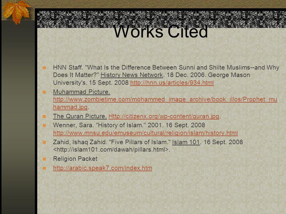 Works Cited HNN Staff.